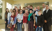 Un groupe de journalistes ukrainiens au Royal Thalassa Monastir